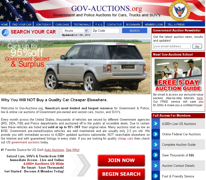 Cheap Electric Donor Car From Government Car Auctions